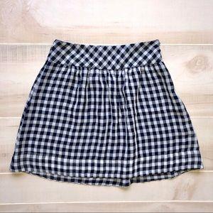 Gap Gingham Skirt